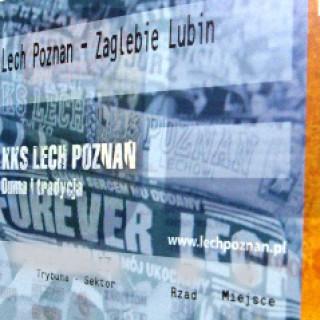 Bilet Lech Zaglebie